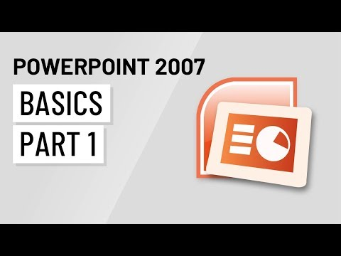 Microsoft® PowerPoint 2007: Add sounds in a PPT