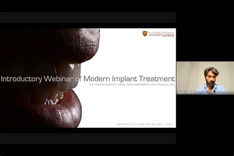 Introductory Webinar on Modern Implant Treatment for