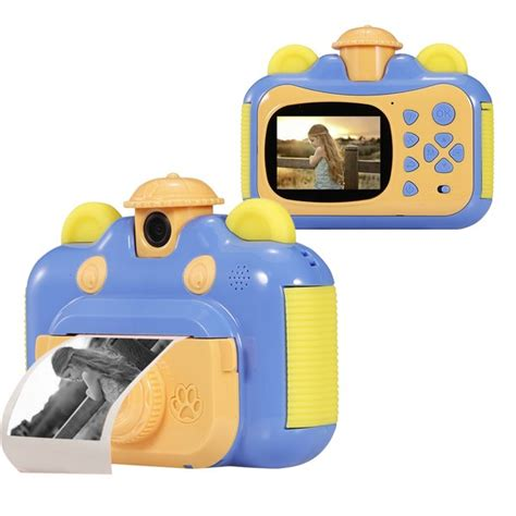 Instant Print Camera for Kids with Print Paper 2