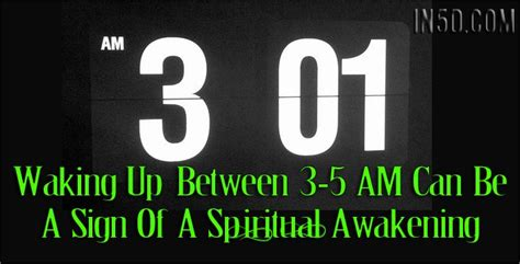 Waking Up Between 3-5AM Can Be A Sign Of A Spiritual