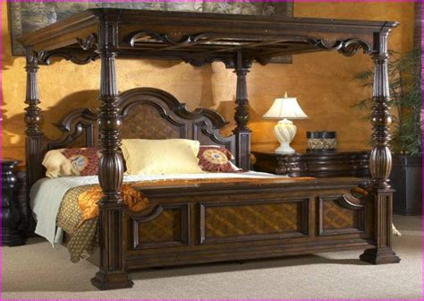modern California king canopy beds cool designs   King